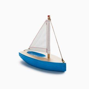 Boat Wooden Sculpture